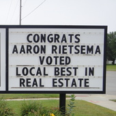 Aaron Rietsema (Town and Country Realtors)