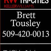 Brett Tousley, Tri Cities Real Estate | (509) 420-0013 (Keller Williams Realty)