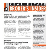 Real Estate Brokernulls Insider Newsletter