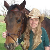 Brigita McKelvie, The REALTOR with horse sense and no horsing around (Cindy Stys Equestrian and Country Properties, Ltd.)