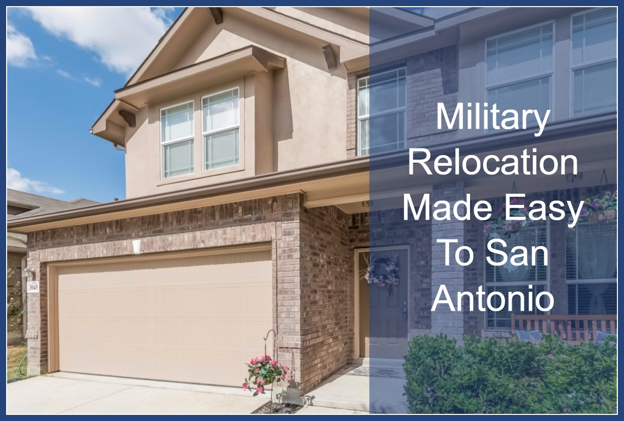 Relax in the cozy and comfortable home of your choice in your military relocation to San Antonio TX.