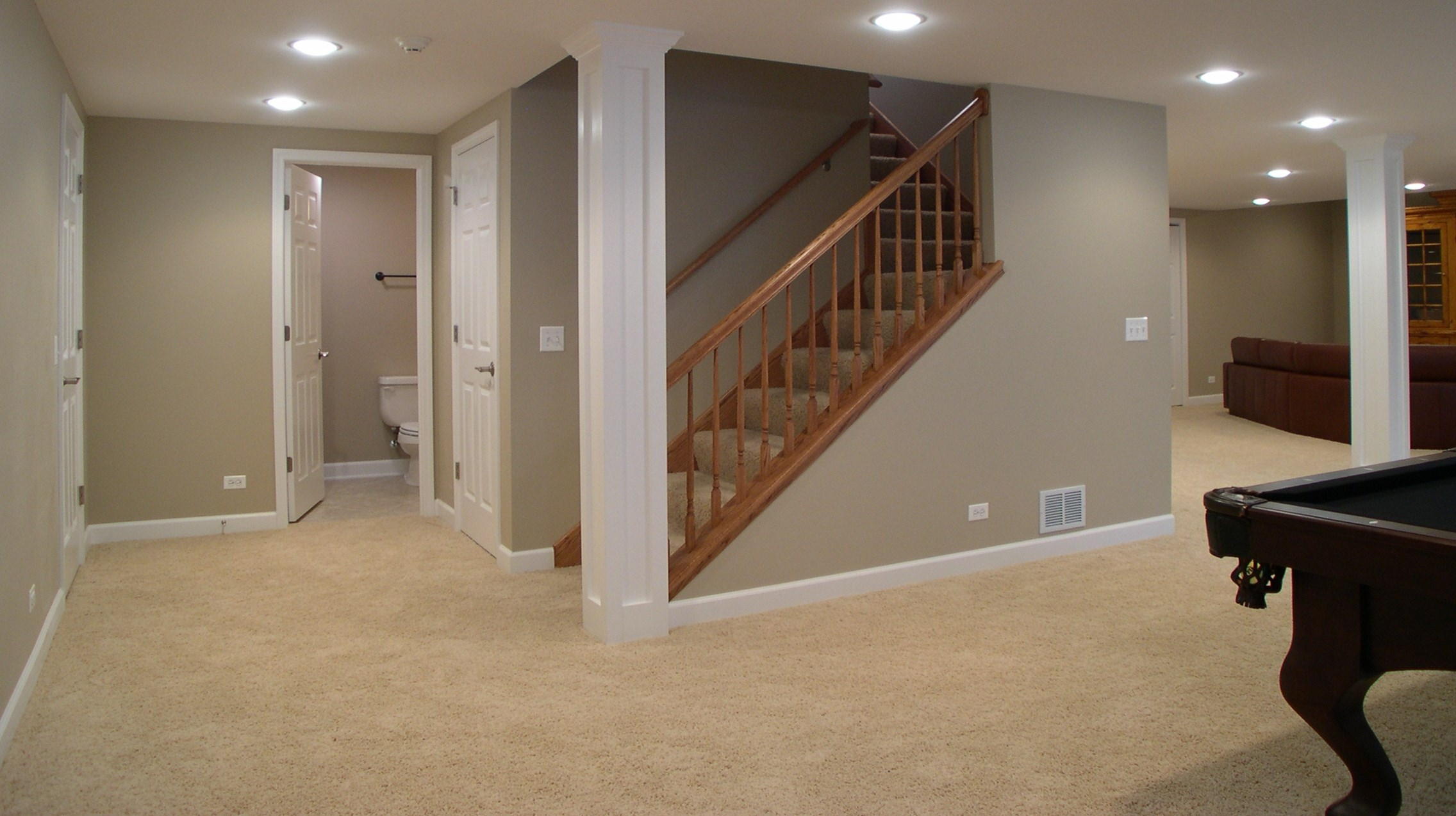 homes with finished basements