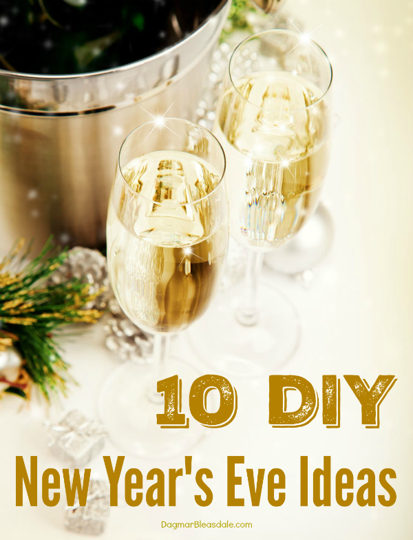 New year eve ideas at home.