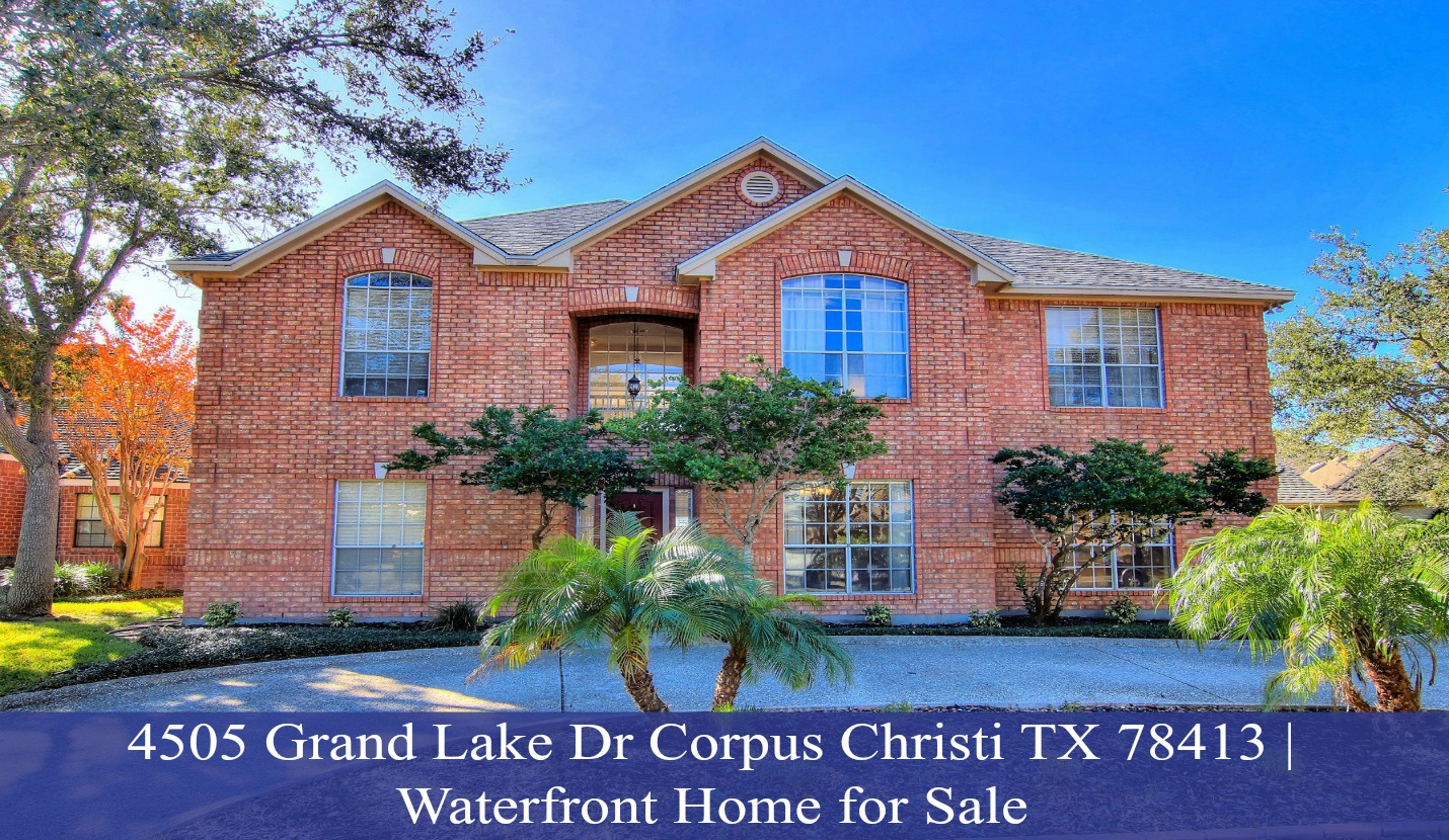 Home for sale 4505 grand lake dr corpus christi tx for On the property sale prices
