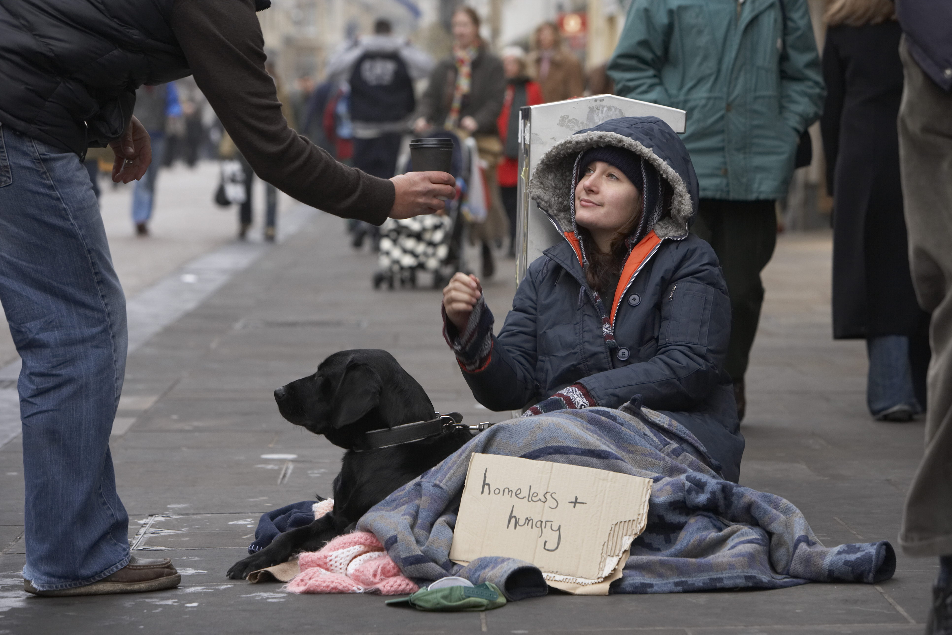 the need to reach out and help the poor and homeless in america Starting a homeless ministry is one believers to help the poor, visit the prisoners and reach the lost with would likely need if you were homeless.
