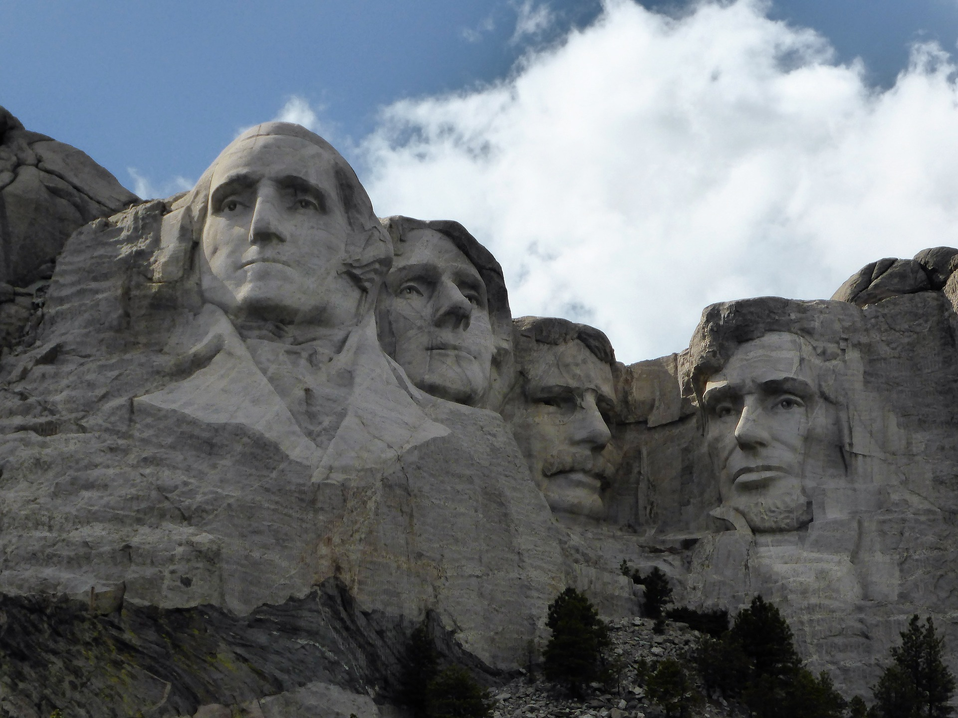 Fun facts about our mount rushmore presidents for Mount rushmore history facts