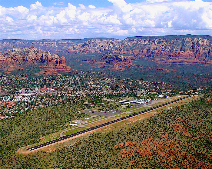 Excessive heat Sedona airport