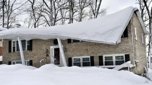 What is snow load and what can a homeowner do about it for Snow load roof pitch