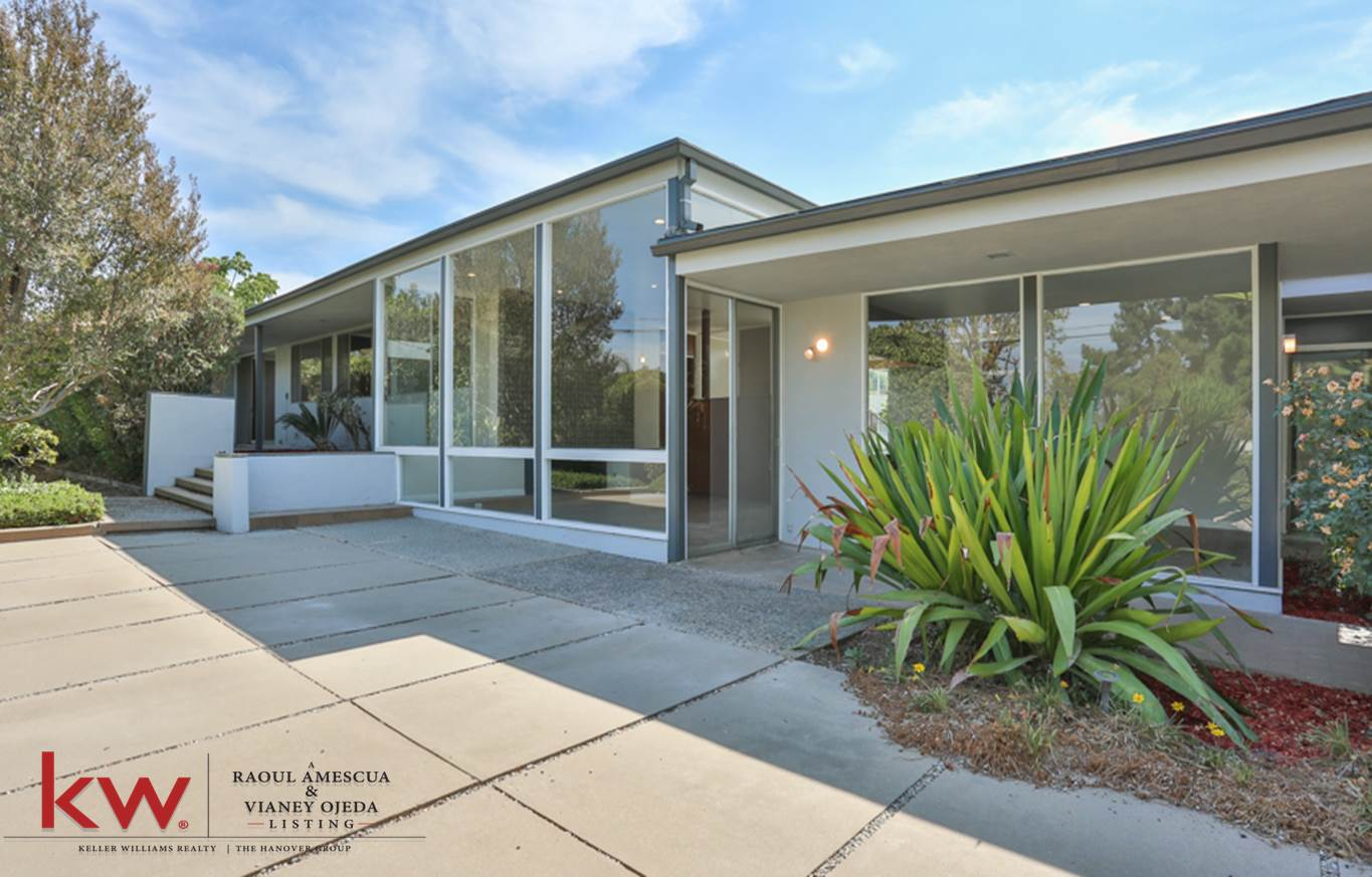 mid-century modern west covina pool home for sale