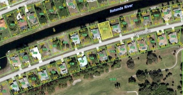Affordable Waterfront Lot In Rotonda West FL