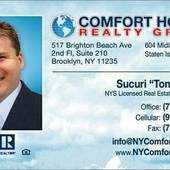 "Sucuri ""Tony"" Palevic (COMFORT HOMES REALTY GROUP)"