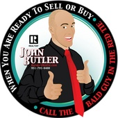John Butler, Bald Guy in the Red Tie (Exit Twin Advantage Realty)