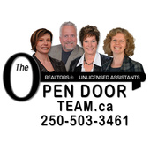 Calvin Carr,  Shawna Sidhu (The Open Door Team, RE/MAX Vernon)