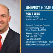 Ron Beebe, Taking The Sting Out Of Home Lending @ronbeebe.com (Univest Home Loans)