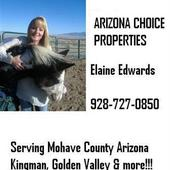 Elaine Edwards, Kingman AZ Realtor (Arizona Choice Properties)