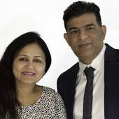 Team Sapphire  Mahesh and Rakhee Khatri, Your friends in real estate (Royal lepage Terrequity Sapphire Real Estate Ltd., Brokerage)