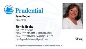 Lynn Bogan (Prudential Florida Realty)