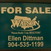Ellen Dittman, #1 Stop for NE FLA-JAX/OP 904.535.1199 (TEXT OK) r (Watson Realty Corp.)