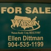 Watson eagle harbor sign