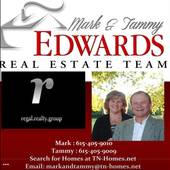 MARK and Tammy EDWARDS, YOUR HOME IS WHERE OUR HEART IS!!! (Mark and Tammy Edwards real estate - Regal Realty Group)