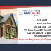 Kris Collis, Associate Broker, Professional Results you Expect 570-801-5525 (Smart Way America Realty)