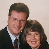 "Al and Kathy Ames, ""With you every step of the way . . ."" (Howard Hanna Real Estate Services)"