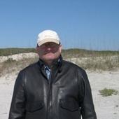 Dan on cumberland island