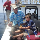 Rich Antonino, Charter Captain and Fishing Show Producer (Black Rose Fishing Charters and CastNCrew Fishing Show)