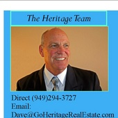 Dave Eisenbrey, Real Estate Agent, 55+, Active Adult Communities. (Heritage Realtor Group agents for Coldwell Banker.)