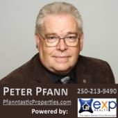 Peter Pfann @ eXp Realty Pfanntastic Properties in Victoria, Since 1986., Talk To or Text Peter 250-213-9490  (eXp Realty, Victoria BC www.pfanntastic.com)