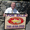Jim with sign