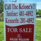 Justine and Kenneth Kelone (Keller Williams Realty)