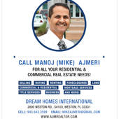 "Manoj (Mike) Ajmeri, ""I can turn your Dream into Reality"" (United Realty Group, Inc.)"