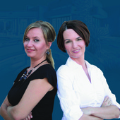 Megan Izdebska & Hanna Manoufar Chandler, Scottsdale Real Estate Agent, Double Commitment. Double Results. (United Brokers Group)