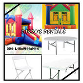 Russo's Rentals, We offer party rentals including jumpers (Russo's Rentals)