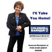 Linda  S. Cefalu, Broker Assoc., I'll Take You Home (Coldwell Banker Homesale Realty)