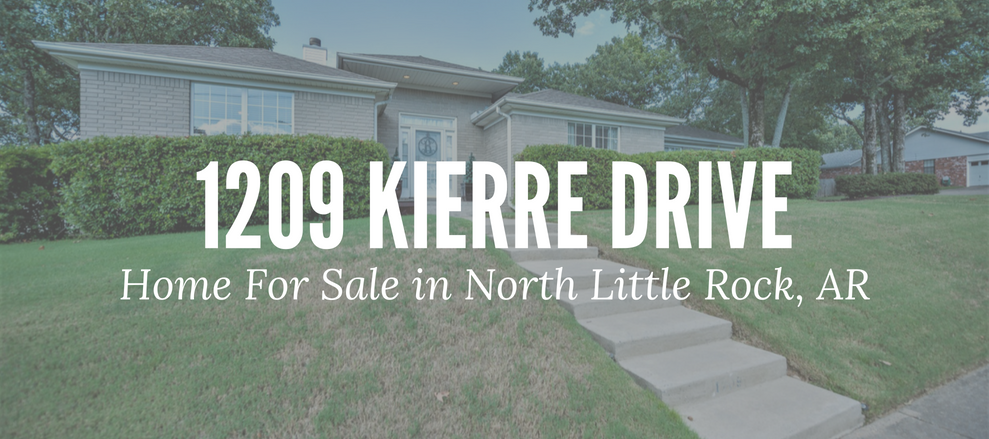1209 Kierre Drive North Little Rock Ar Home For Sale