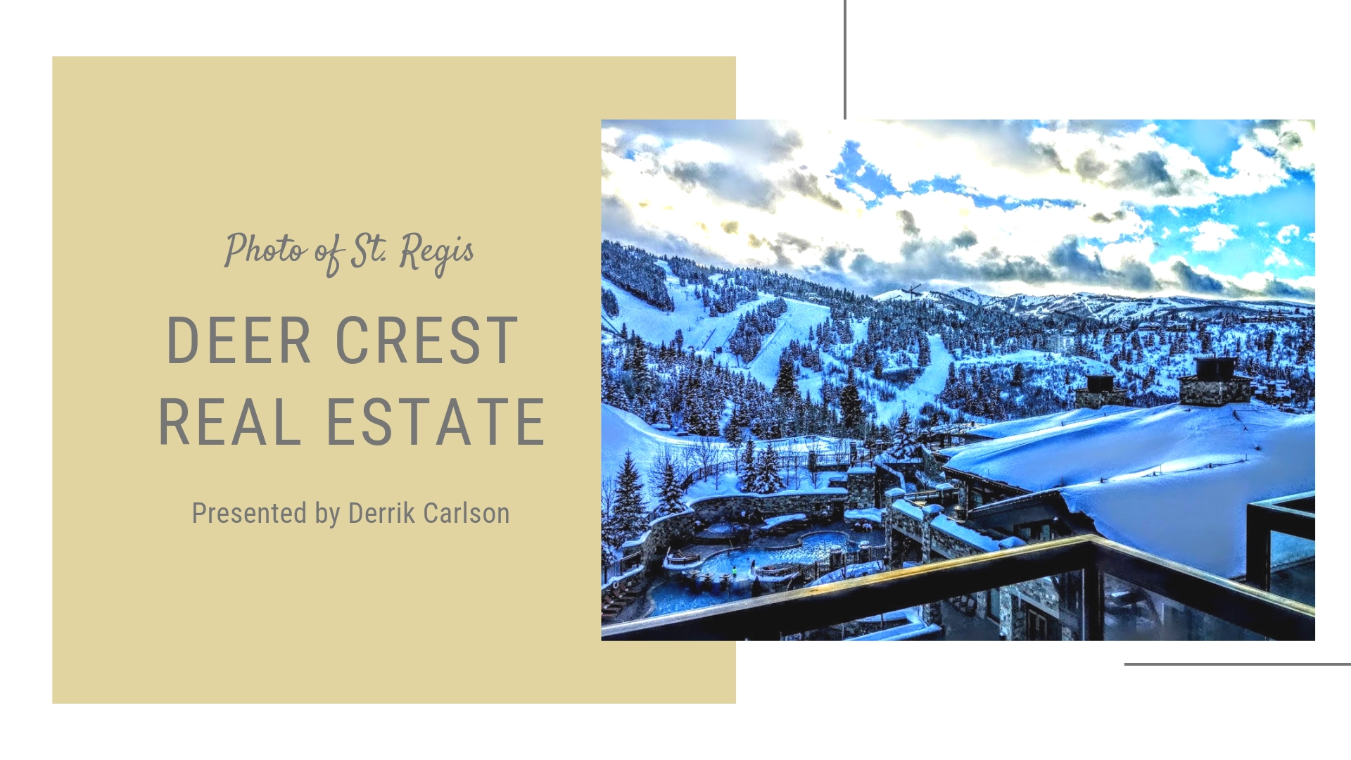deer crest homes and condos for sale in park city ut