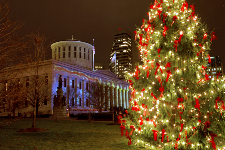 - Top Ten Community Christmas Trees In Columbus