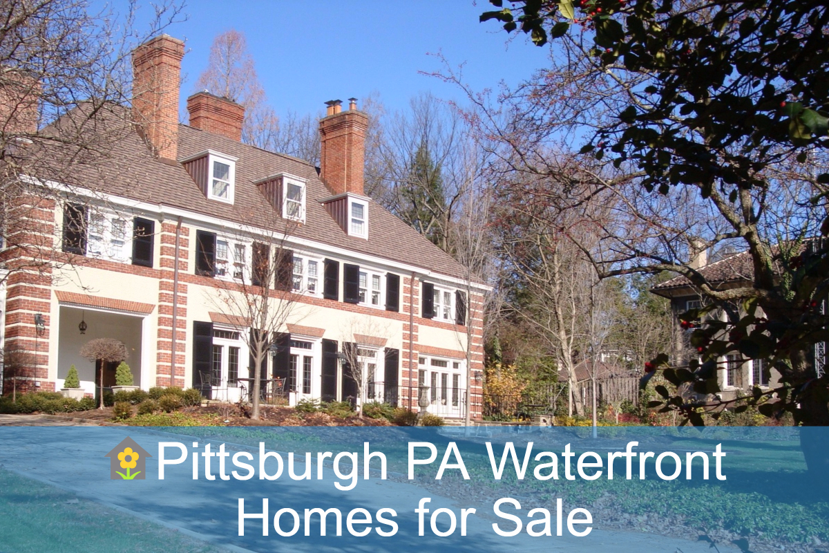 Pittsburgh Pa Waterfront Homes For Sale