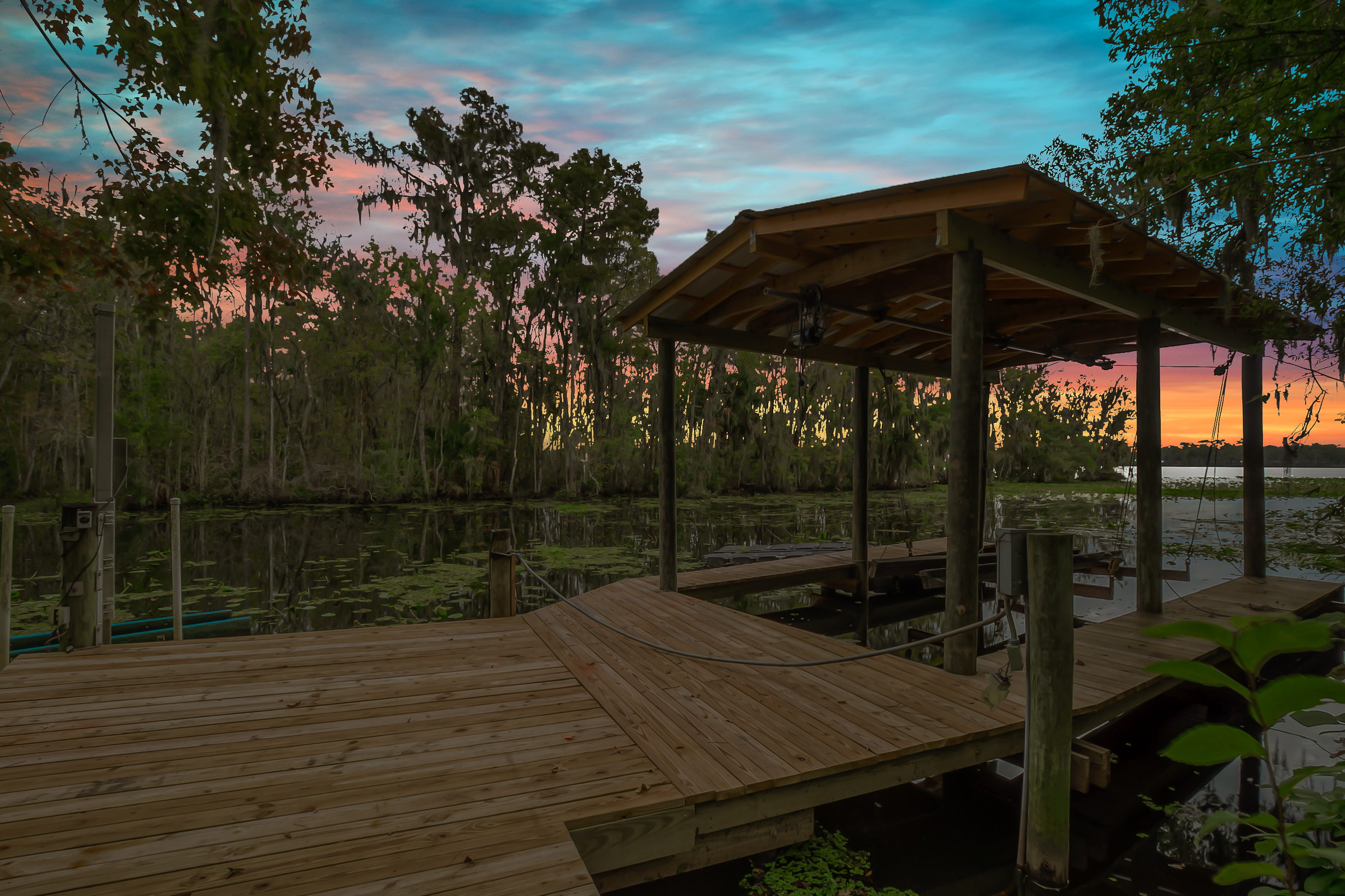 Dock with Boat Lift to Julington Creek | 3360 Cormorant Cove Dr