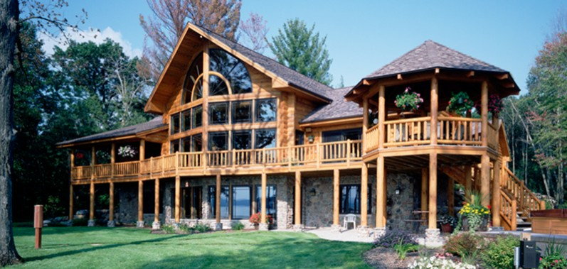 Log Homes Beautiful And Energy Efficient