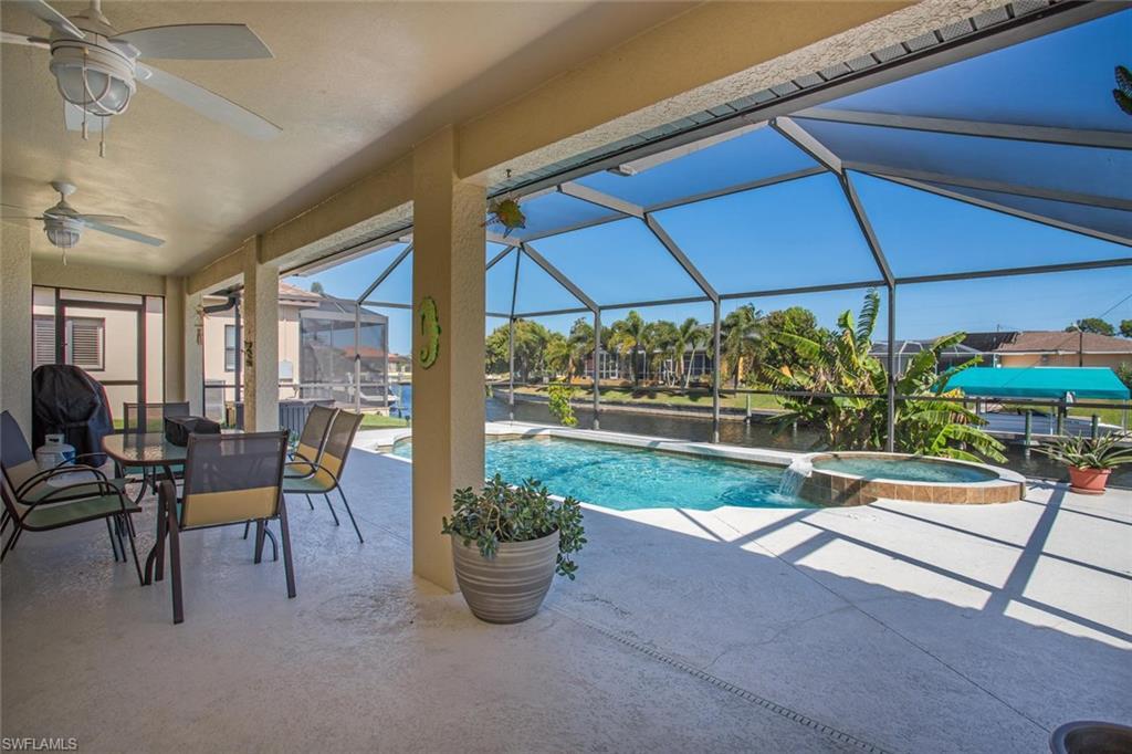 Gulf Access Home For Sale In Cape Coral Florida