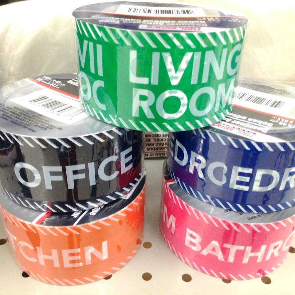 Making Moving Easier: Making Your Move Easier With Decorative Packing Tape