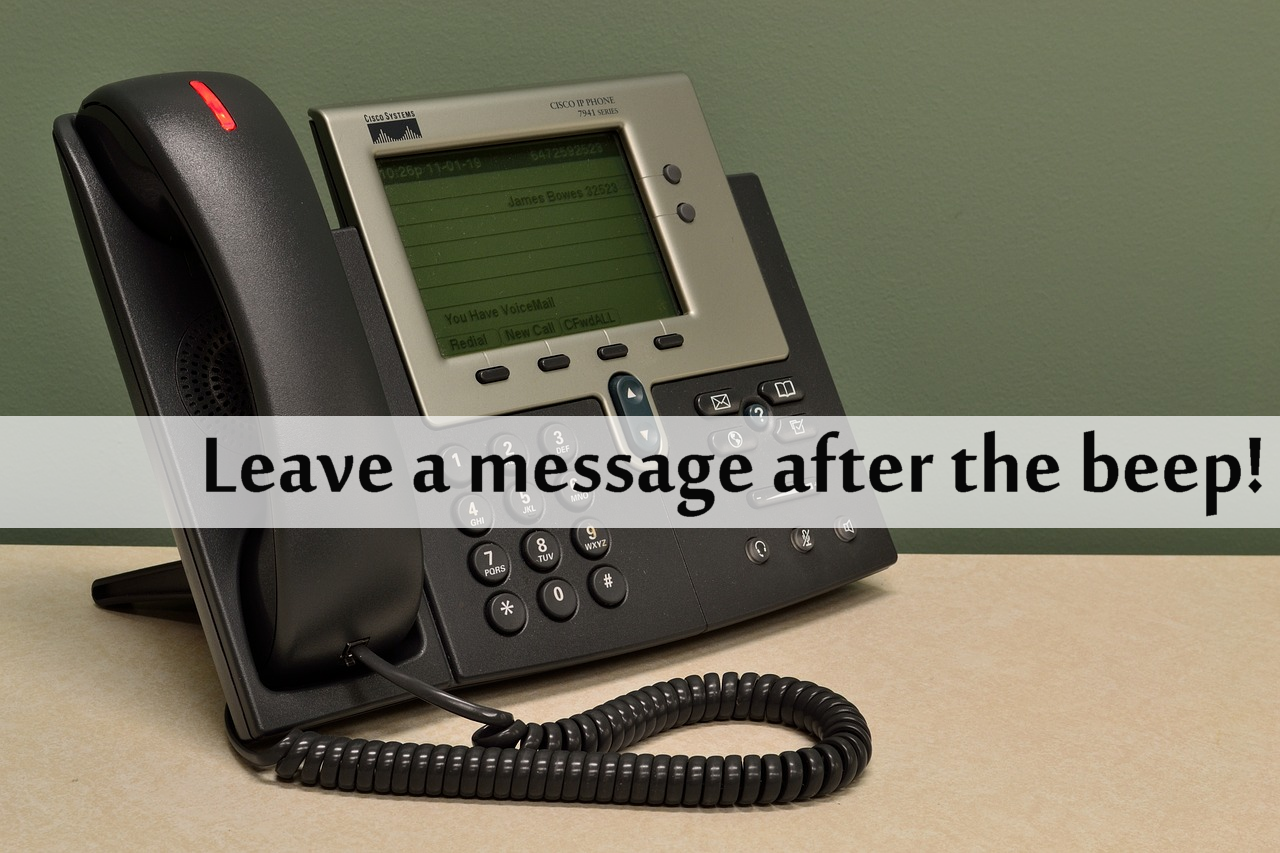 What Does Your Voicemail Message Sound Like