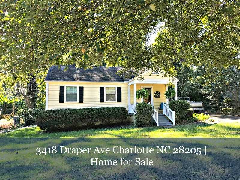 3418 Draper Ave Charlotte Nc 28205 Home For Sale
