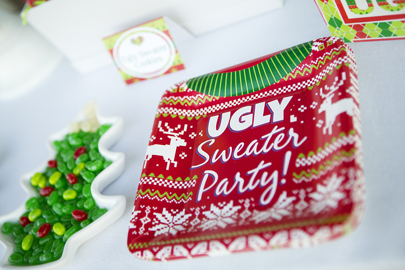 featured image - Ugly Christmas Sweater Party Decorations
