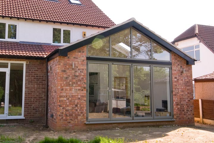House Extension: converting single storey extension to