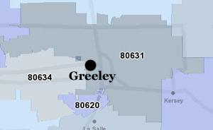 Greeley CO Homes for Sale by Zip Codes - March 2018 on zip code area map, postal zip code map, nassau county zip code map, denver zip code map, boston zip code map, find zip code map, atlanta zip code map, portland metro zip code map, zone by zip code map, san francisco zip code map, yellow pages zip code map, united states zip code map, scottsdale zip code map, oklahoma city zip code map, pierce county zip code map, orlando zip code map, manhattan zip code map, plantation zip code map, local zip code map, katy zip code map,