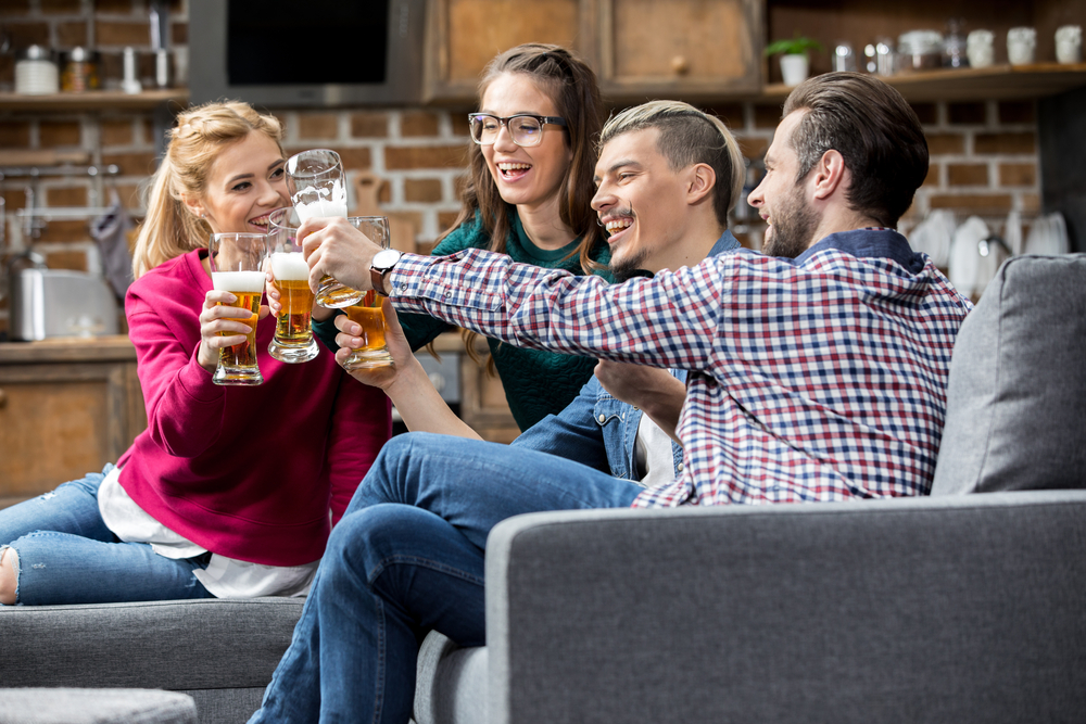раз я выпил с друзьями по привычке слушать